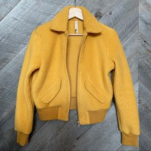 Group by Babaton *fits big* fuzzy bomber jacket